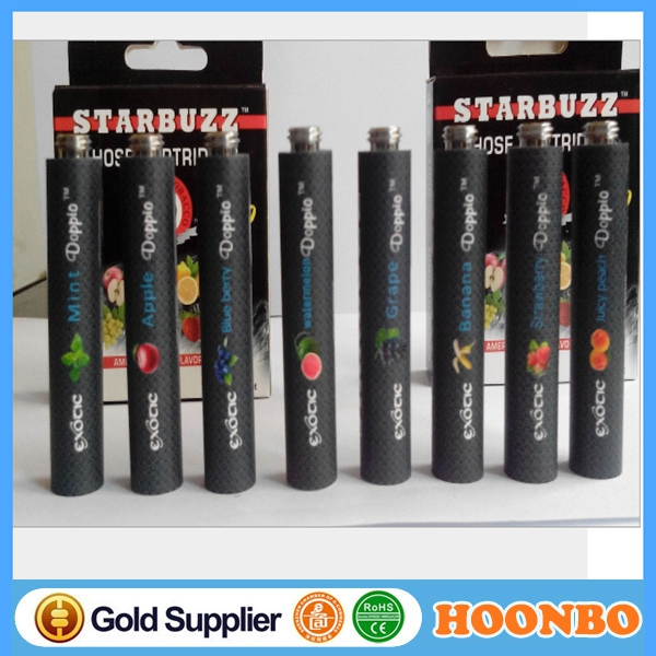 14 Flavors starbuzz ehose ehose 2.9 cartridge e hose flavors in display box