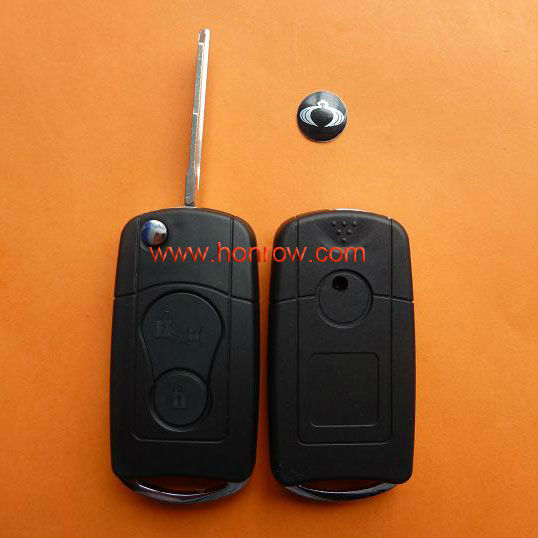 High Quality Ssangyong modified flip remote key shell,Ssangyong key blank,Ssangyong keys