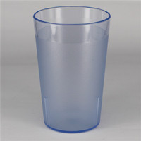 8oz custom unbreakable glass cups tall and thin drinking glass cup acrylic highball glass
