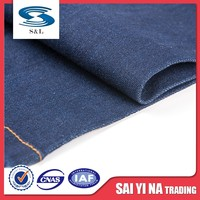 Most popular weaving method selvedge stretch denim fabric wholesale