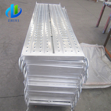 All sizes available hot selling galvanized perforated sheet board scaffolding steel plank