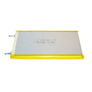 BIS certified 3.7V lithium polymer battery 5000mah lipo battery for power bank light