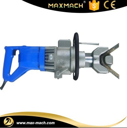 High quality not easy to bad handheld RB-16 steel rebar bender,china manfacturer