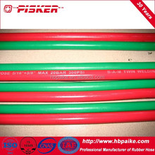 EPDM Flexible Bulk Connecting Welding Collapsible Rubber Hoses Twin Welding Hose