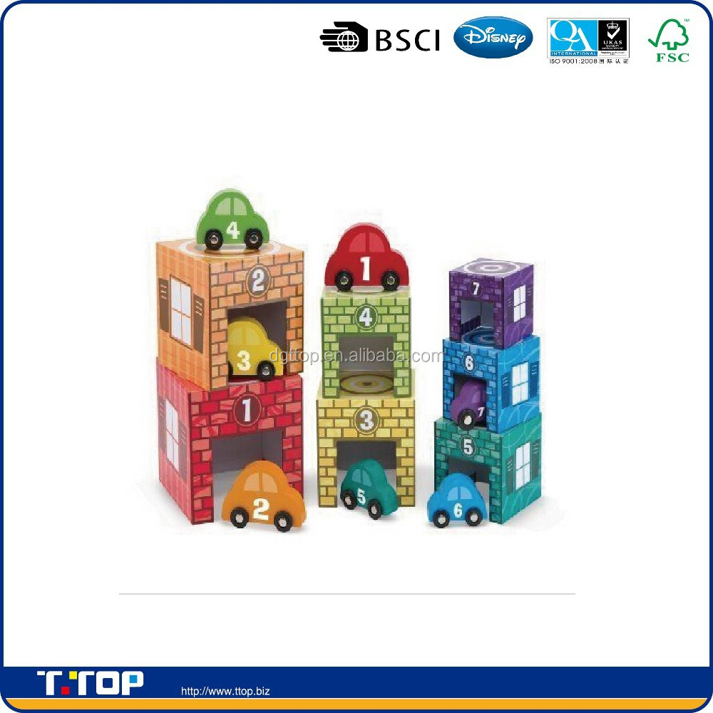 BSCI,FSC Certificated Building Blocks Toys Toy Stacking Construction Set Game