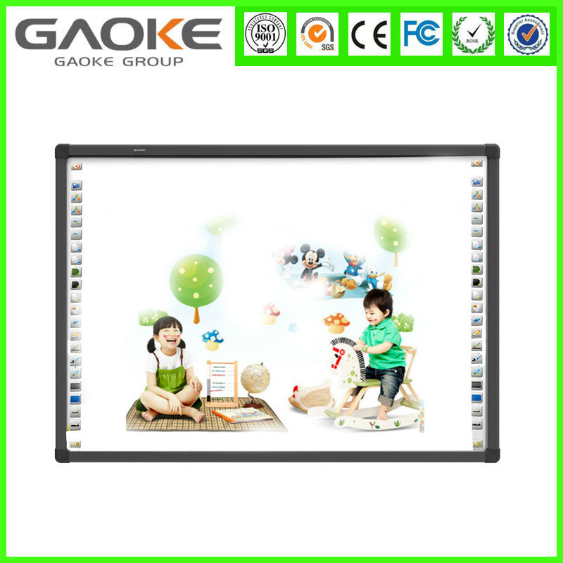 85 inch Magnetic Whiteboard Smart Board Whiteboard Surface Material