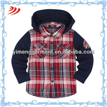 latest styles of boys shirts plain hoodie for boys casual shirt boy