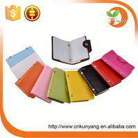 PU leather business card case/name card place/card protector