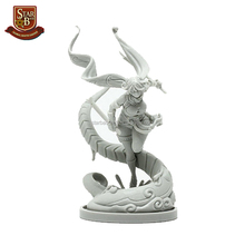 Factory custom made distracted resin model kit statue resin kit sexy