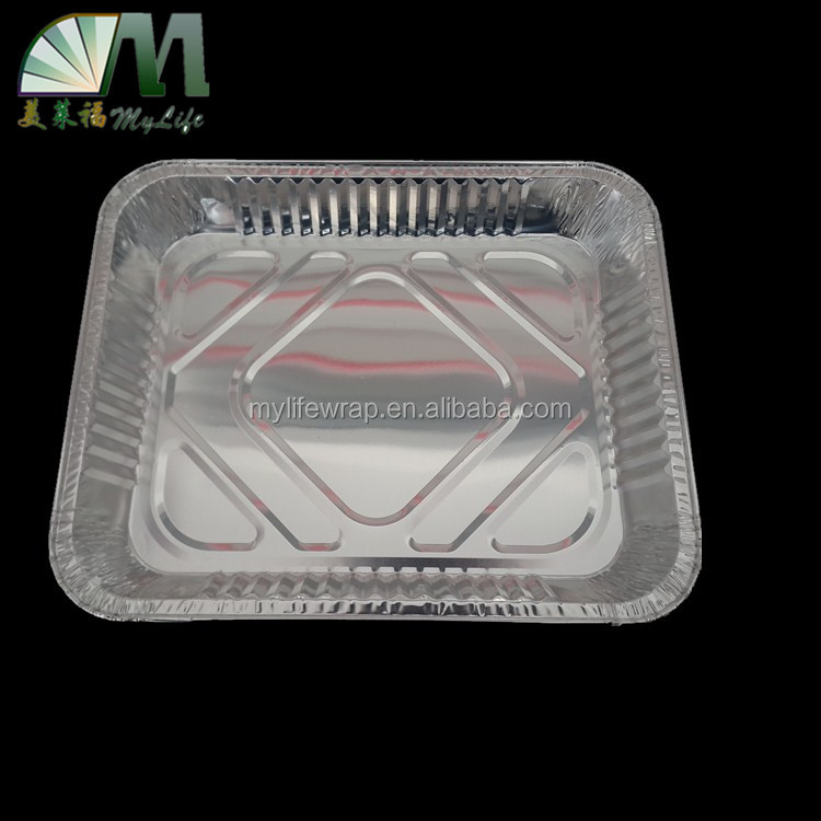 A25 2500ml high quality food grade aluminium foil takeaway food box
