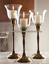 Delicated Bronze Gold Candelabra Wedding Gift/Decoration