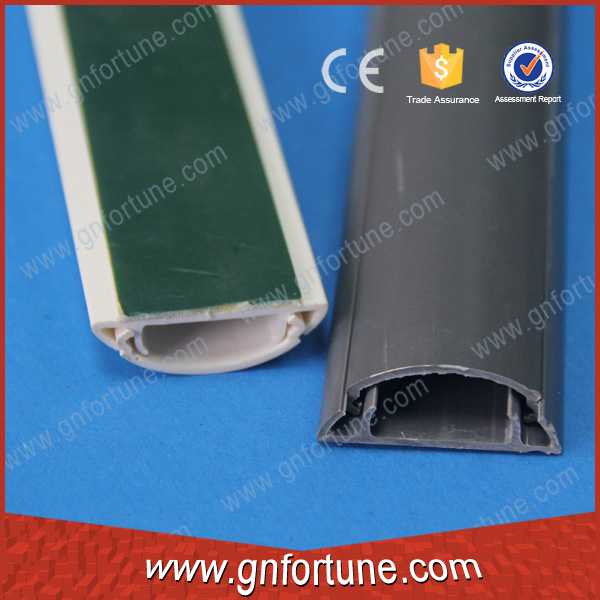 Plastic Cable Tray Channel/ Pvc cover for electric wire 50*25