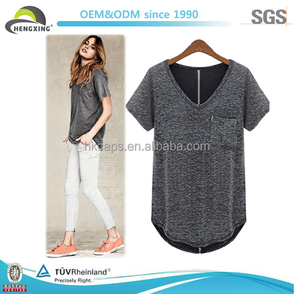 Office Lady Fashion Top Quality Girls T-shirts