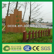 Cheap Wood Plastic Composite Waterproof WPC fence