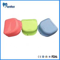 CE approved high quality PP material with slot orthodontic retainer case