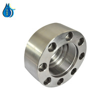 water jet cutting machine head spare parts hydraulic cylinder head