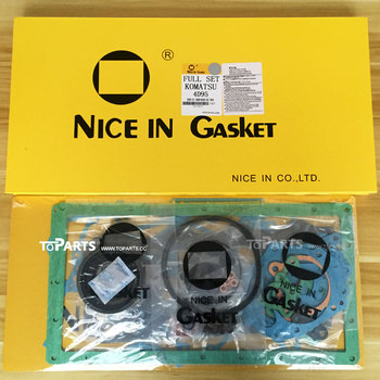 6205-K1-2102 Engine gasket kit S4D95L-1B Excavator engine parts Gasket kit 6205-K1-2101 6205-K1-2100