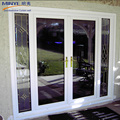 Australia style double toughened front door with side light