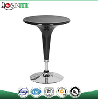 Modern Adjustable ABS Round Bar Table T-01
