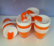 double wall thermal plastic cup