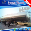 transport crude oil aluminum alloy tank semi trailer