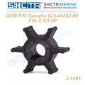 OEM Outboard impeller for 6L5-44352-00 18-8911 2.5/3HP