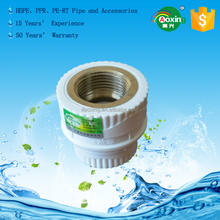 Environmental Protection Water Supply PPR Pipe Fittings Female Thread Coupling