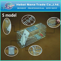 Live Wild Animal Trap Cage For Rat Mouse Cat Possum