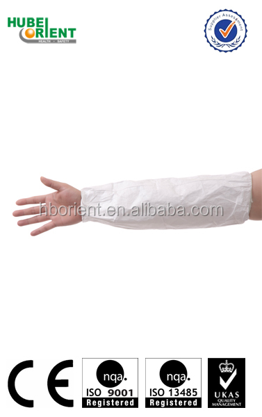 Waterproof Excellent Tyvek Arm Sleeves
