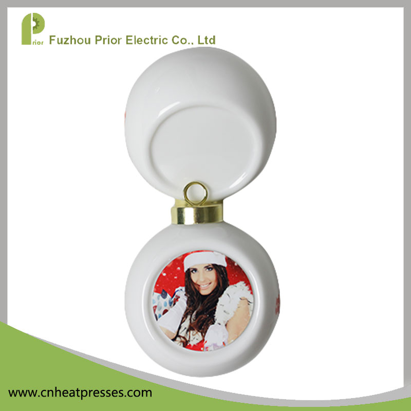 MK-Ball Prior Sublimation Christmas Ball Ornament Bauble