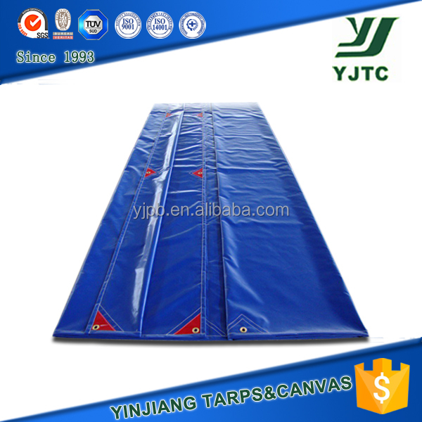 custom weight reinforced edges pvc coated material tarpaulin