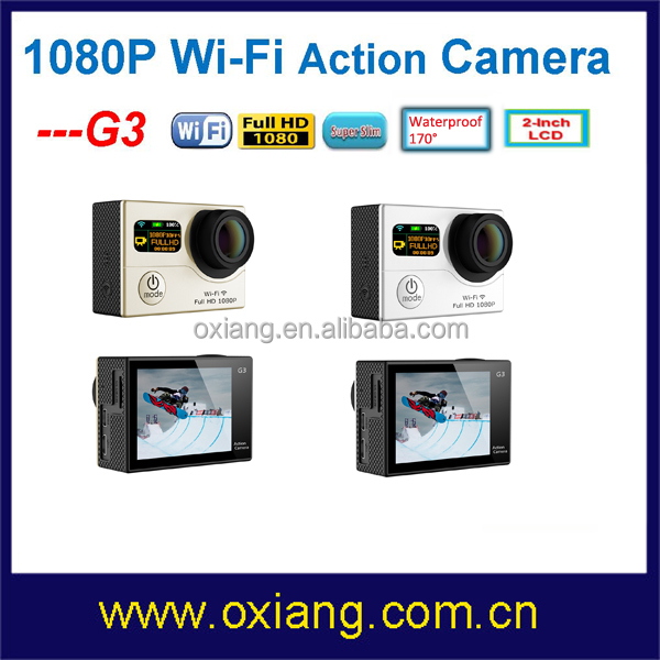 cheap waterproof action camera 60fps wifi