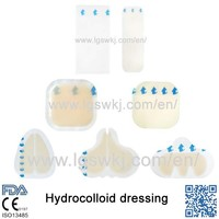 first aid for a puncture wound hypafix dressing retention China Manufacturer Medical Product Hydrocolloid Dressings.