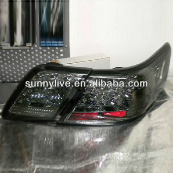 for toyota camry led tail lights 2006 2009 year chrome housing sn buy camry rear lamp tail. Black Bedroom Furniture Sets. Home Design Ideas