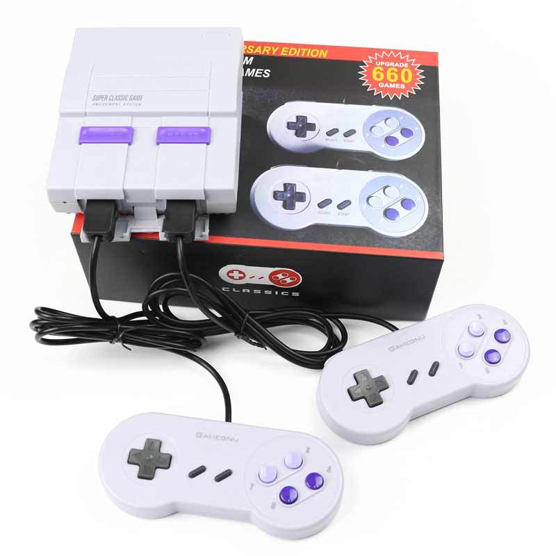 2018 hottest Mini Video Game Console with Entertainment System Classic 660 Built-in Games