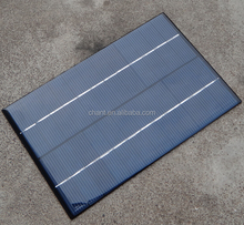 Photovoltaic small PET laminated 4w 12v solar panel for sale