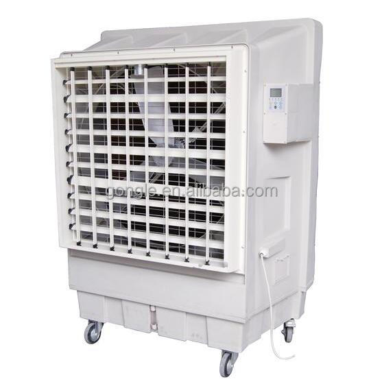 exhibition hall air cooler / super market air cooler / free standing industrial air conditioner with wheel