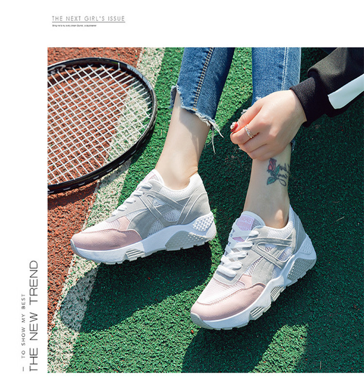 shoes women sport fashion color good quality lady sneaker