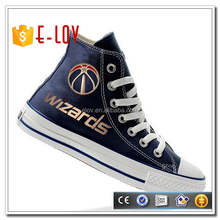 Dropship best price custom shoes men high top sneaker for gift