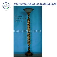 Custom polyresin standing floor lamps manufacturers in china