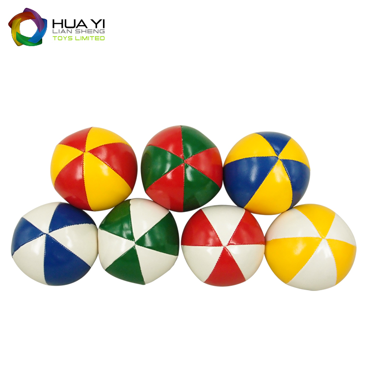 Fashionable Magic Show PU Leather Clown Juggling <strong>Ball</strong>
