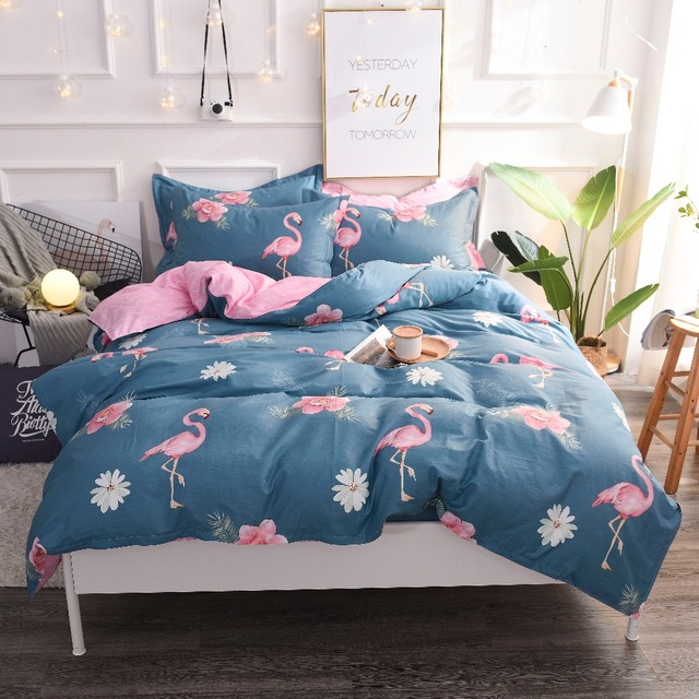 Cartoon Vegetable Plaid Full Queen Size 100% Cotton Polyester Bed Sheet , Baby Kids Bedding set