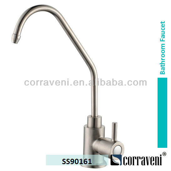 stainless steel sanitary ware bathroom mixer pure drinking water tap kitchen faucet SS90161
