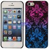 New arrival universal glitter bling crystal diamond chrome hard case for iphone5+stylus