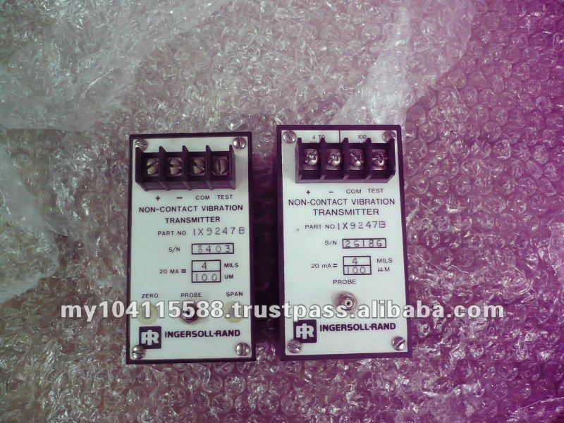 Vibration transmitter 1X9247, Repair Air Compressor controller & Service