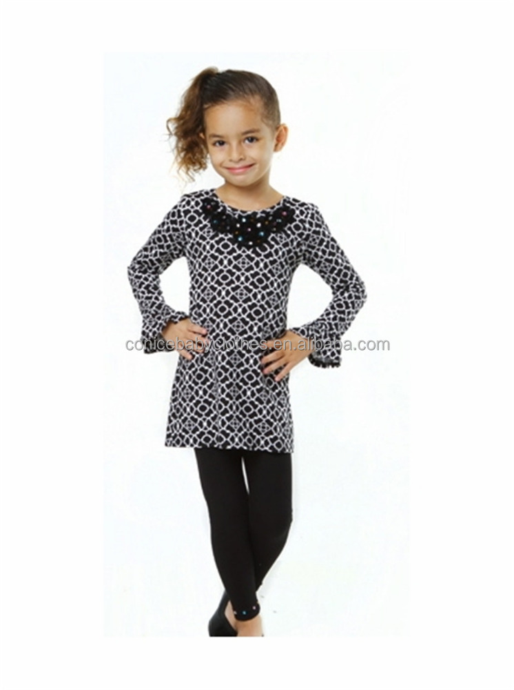 china cheap wholesale kids shirts matching legging 2pcs clothes from china distributors for children clothing
