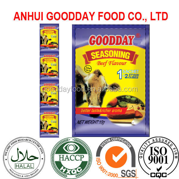 Goodday Brand seasoning powder beef flavor