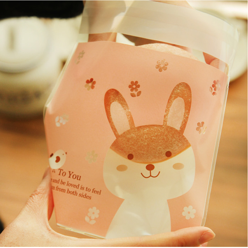 Opp cookie bag transparent plastic bag cake bag