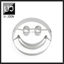 Emoji Shape Stainless Steel Cookie Cutter,Stainless Steel Cookie Former UJ-CC126