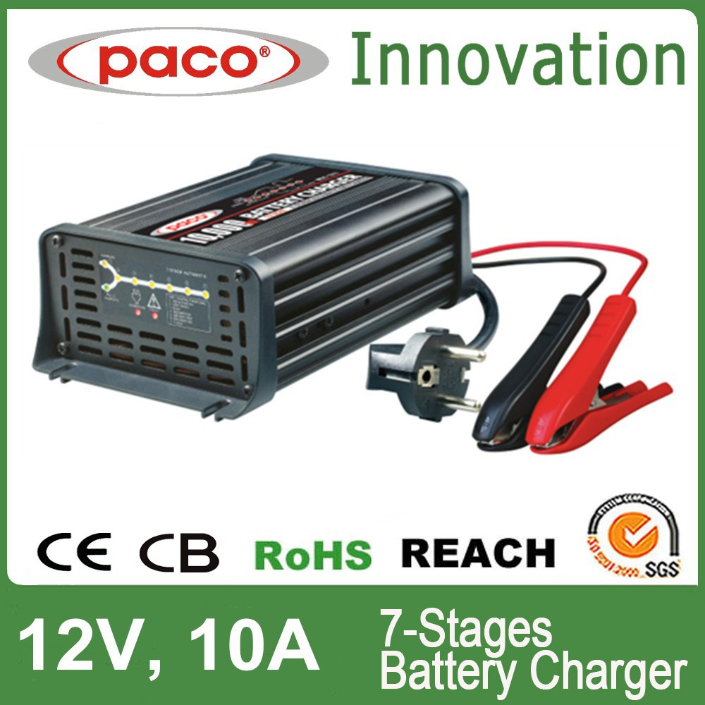 PACO Battery Charger China Manufacturer MBC 1210 250VAC,T3.15A Current Fuse Rating